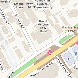View Map of 50 EAST COAST ROAD ROXY SQUARE SINGAPORE 428769  StreetDB