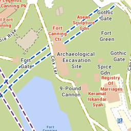 Fort Canning Park - Parks & Nature Reserves - Gardens, Parks